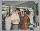 80年代接待加纳外宾